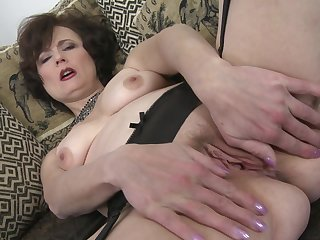 Solo play with older lady Alice S. hard times new toys
