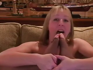 Mercedes Sucking Her Toes in Toeless Pantyhose [VINTAGE]
