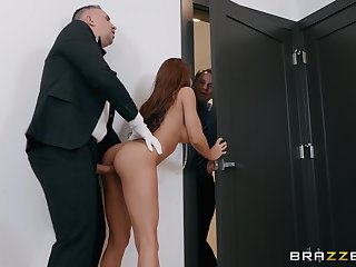 Madison Ivy takes a shower before getting fucked and a facial