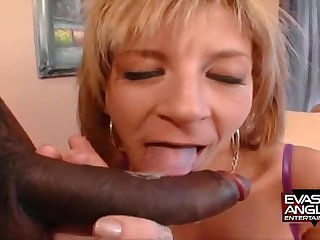 Stunning Mother I´d Much the same as To Fuck Gilt Hair Lady Whore Fucks A Big Black Chopper - sara jay