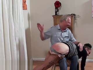 Stocking Girl Spanked Unending