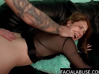 Pretty Loud MILF ass & pussy abused