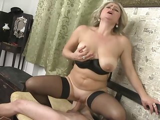 Slowly striping MILF Rachel Blond fills her slutty mouth back weasel words