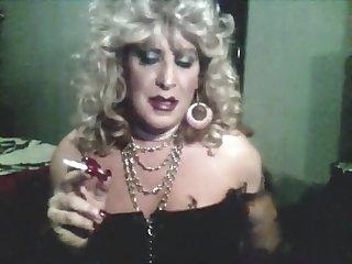 Vintage MzRoxy Smoking Bling And Long Nails