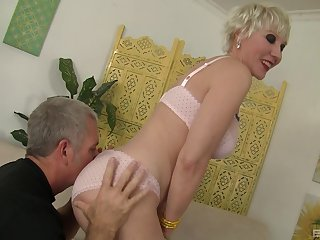 experienced milf Dalny Marga teaches her friend all about hard sex