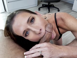 Sofie Marie enjoys blowy strong penis like subsequent never comes
