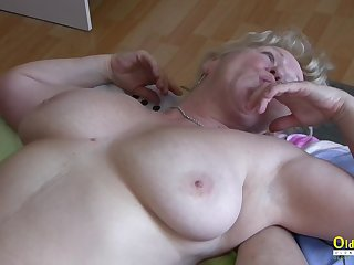 Mature landowners playing with each other and with one hard cock