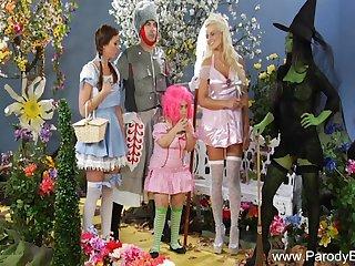 Kinky Midget Parody Wizard Sex That Makes Them Arouse