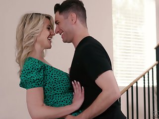Mouth watering dominate milf Kit Mercer has an affair with handsome stepson