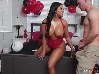 Zach Wild fucked gorgeous tanned Latina grown-up Mary Jean.