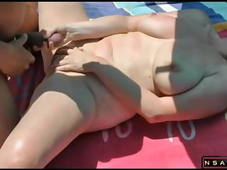 Fucked by unfamiliar at the beach featured in the air homemade real amateur sexvideo