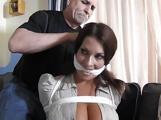 Busty filial MILF tied increased by punished in bondage - talisman