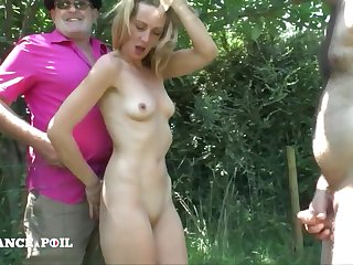 Greedy Mature Nailed In 4some Outdoor