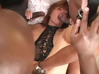 Hot Slut Wife Bred By Three BBC In Front Of Her Cuck Spouse