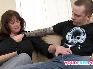 Adult Redhead Knows What A Young Man Needs