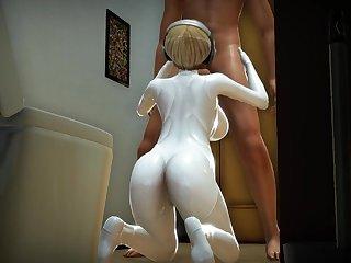 Pauper Pound Plummy Androids - Cartoon Fantasy Sex