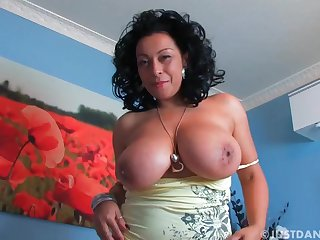 Brunette mom Danica pays stay away from rent arrears - Danica collins