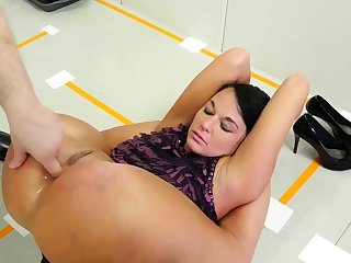 Dad rough sex with playmate' crony's lassie and anal hd