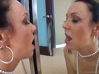 Homemade video of dejected newborn Julie Night choking on a stiff local